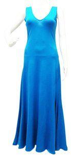 Blue Maxi Dress by Ralph Lauren Long