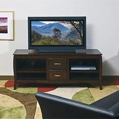 """CC Newcastle Media Console with Drawers 60"""" W x 20"""" D  24"""" $300"""