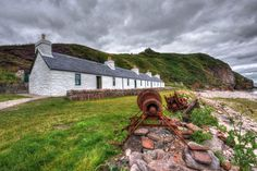 Holiday at No. 1 The Shore Cottages, Berriedale near Wick, Caithness
