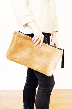 The cowhide on Primecut's bags is very high quality and makes each one unique. The lining is very durable and has pockets inside too.