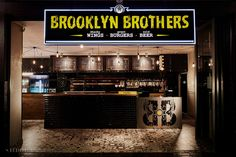 Studio A Signature Projects / Johannesburg, South Africa. Restaurant Interiors, Restaurant Design, Brothers Restaurant, Good Burger, Best Interior, South Africa, Liquor Cabinet, Brooklyn, Studio
