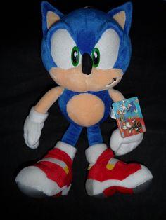 Soap Shoes Sonic plush