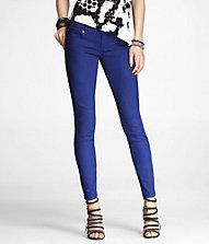 STELLA COLOR JEAN LEGGING - COBALT BLUE  bright and fit to perfection!
