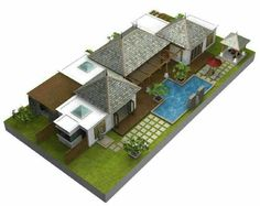 Bali Style House Floor Plans Styles Of Homes With Pictures