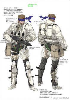 Metal Gear Acid 2 Concept Art