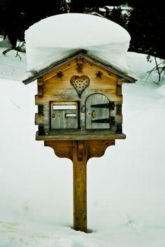 Birdhouse or Mailbox? Mailbox in Savoie, Rhone-Alpes, France by Éole