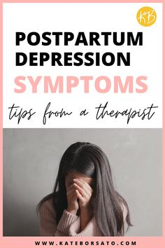 Signs of Postpartum Depression (What NOT to Ignore) - Kate Borsato Signs Of Postpartum Depression, Postpartum Anxiety, Signs Of Depression, Overcoming Depression, Postpartum Care, Postpartum Recovery, Baby Dust, Body After Baby