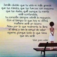 Motivational Phrases, Inspirational Quotes, Mother Quotes, Spanish Quotes, Good Thoughts, Cool Words, Life Lessons, Positive Quotes, Quotations