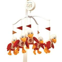 What baby wouldn't love a bunch of Baldwins circling over their head?