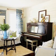 Living Room Piano Design, Pictures, Remodel, Decor and Ideas - page 4