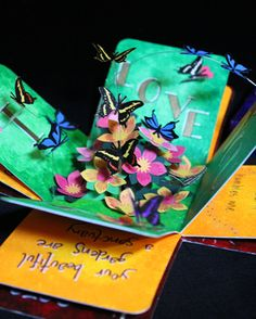 Live Simply Dye Often: Etui (Exploding Box) Gift for Mom's Birthday    This was my etui box inspired by others