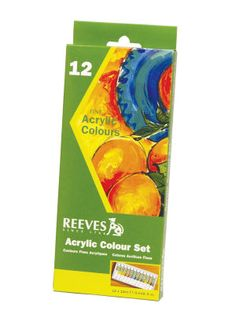 any set that has a good selection of colors Acrylics  Small- Med. size