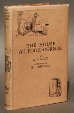 The house at pooh corner, first edition... via manhattanrarebooks
