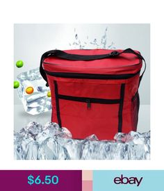 6f6ab5b973 Kitchen Storage   Organization Thermal Cooler Waterproof Insulated Portable  Tote Picnic Lunch Bag Storage  ebay