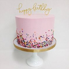 Sprinkle Me Pink - Stunning Cakes That Definitely Did Not Come From A Box - Photos cake decorating recipes kuchen kindergeburtstag cakes ideas Pretty Cakes, Cute Cakes, Beautiful Cakes, Amazing Cakes, Girly Cakes, Bolo Cake, Birthday Parties, Cake Birthday, 18th Birthday Cake