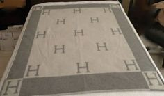 hermes look alike blanket