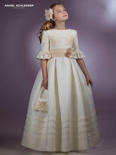 47c2a4be3 Angel Schlesser | Marla Comuniones | Perla | Vestidos de primera ...