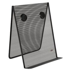 Mesh Document Holder, Stainless Steel, Black