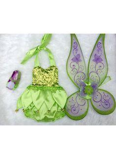 Mameluco de lentejuelas de hadas verde manzana con tutú