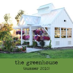 is it weird that i want more then anything to have a green house in my backyard?