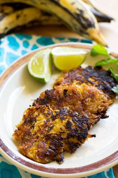 Garlic Lime Chicken Plantain Fritters — The Curious Coconut Paleo Recipes Easy, Beef Recipes, Real Food Recipes, Chicken Recipes, Cooking Recipes, Kitchen Recipes, Plantain Fritters, Garlic Lime Chicken, Sugar Free Bacon