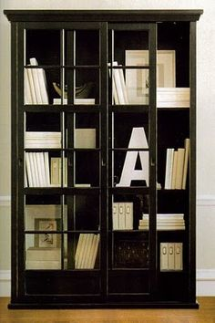 25 best bookcases with glass doors images bookshelves libraries rh pinterest com