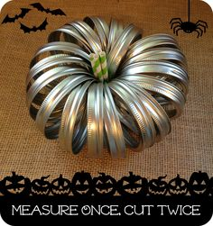 Measure Once, Cut Twice: Halloween Table Decorations
