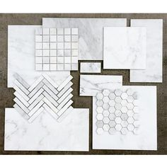 Announcing the arrival of our latest shipment of Asian Statuary Premium. This gorgeous white marble is available in a wide array of field tiles, mosaics, and moldings. #UniqueStoneImports #UniqueTile