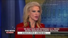 Conway defends Trump immigration ban, ripped press 'a new one' over bias