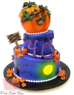 Halloween birthday cake sayings