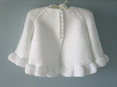 Knitted Pattern Baby Jacket Baby Cardigan Garter Stitch Knitted Pattern Baby Jacket Newborn Girl Coat Cardigan Baby PATTERN - Diy and craft Crochet Baby Cardigan, Crochet Jacket, Cardigan Pattern, Knitted Baby, Jacket Pattern, Booties Crochet, Baby Knits, Knit Crochet, Crochet Hats