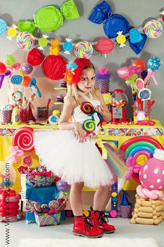 Candy land Themed outfit tutu corset top by PrincessEmmaCouture, $64.99