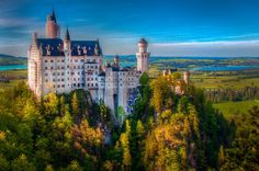 Neuschwanstein+A+Residence+Of+The+Shy+King