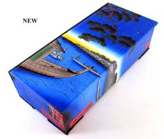 Watch box with Hiroshige print Japanese print by theBOXshop1618