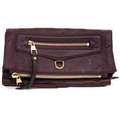 c6eab80573ef24 Louis Vuitton Flamme Empreinte Petillante Clutch - modaselle Louis Vuitton Clutch  Bag, Designer Clutch,