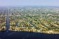 Cape Coral, FL- more miles of canals than any other city in the world