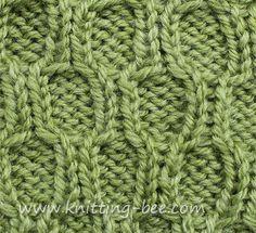 Trellis Cable Stitch