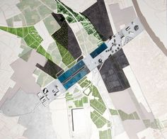 Parc des Expositions by OMA.  Nice site-plan (as pretty as site plans can be, really.)