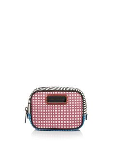 Marc By Marc Jacobs Cosmetic Case - Sophisticato Optical Stripe Small Box