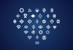 Diamond Jewels Logo by the works on Creative Market