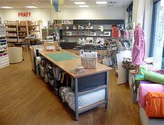 Oversikt: stoffbutikker i Leipzig,   urbanite.net Corner Desk, Furniture, Home Decor, Leipzig, Corner Table, Decoration Home, Room Decor, Home Furnishings, Home Interior Design