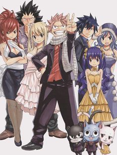 The strongest team° Fairy tail Image Fairy Tail, Fairy Tail Pictures, Fairy Tail Love, Fairy Tail Art, Fairy Tail Guild, Fairy Tail Ships, Fairy Tales, Anime Fairy Tail, Fairy Tail Gruvia