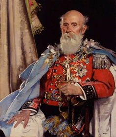 """""""Reginald Brabazon, Earl of Meath"""" by Sir William Orpen National Portrait Gallery, London. Portraits, Portrait Art, Portrait Paintings, Chivalry, Art Uk, Toy Soldiers, Cultura Pop, Military History, Your Paintings"""