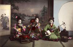 De Geschiedenis van de Geisha