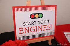 hwtm - Red Racing Car - signal