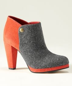 Stow Wool Ankle Boot, Two-Tone in October Signature from L.L. Bean Signature
