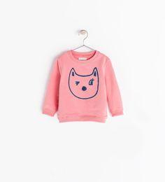 ZARA - KIDS - CAT SWEATSHIRT