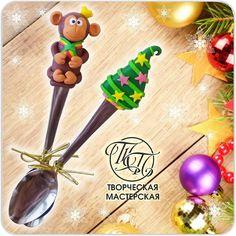 «Новый год не за горами, пора подумать о подарках!!! Новогодние ложечки с символом года Обезьянкой ждут своих покупателей))) #новыйгод #новыйгод2016 #ложки…»