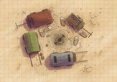 Desert Maps: Grid Caravan by Caeora on DeviantArt Desert Map, Dnd World Map, Rpg Map, Fantasy Map, Fantasy City, Medieval Fantasy, Dnd 5e Homebrew, Map Maker, Dragon Rpg