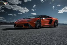 Check Out This Spicy Aventador Courtesy Of Vorsteiner's V Program
